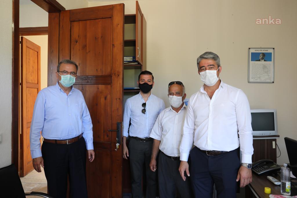 Marmaris Belediye Başkanı Oktay, depremin merkez üssünde