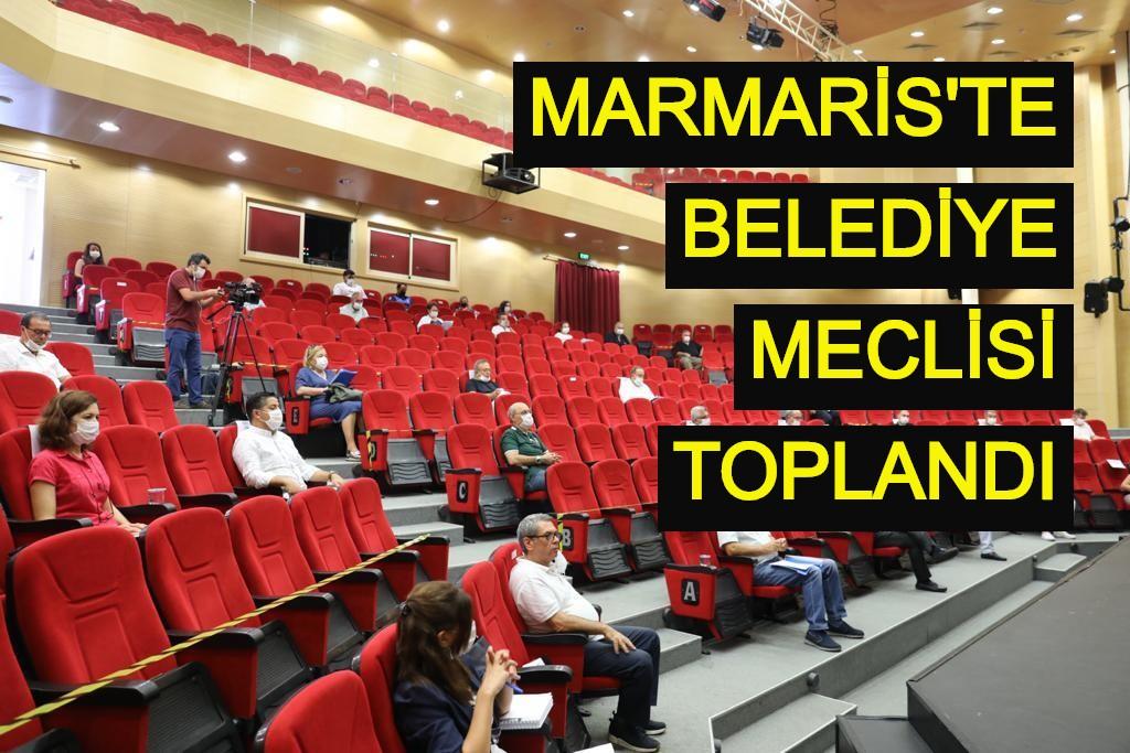 Marmaris'te Belediye Meclisi toplandı