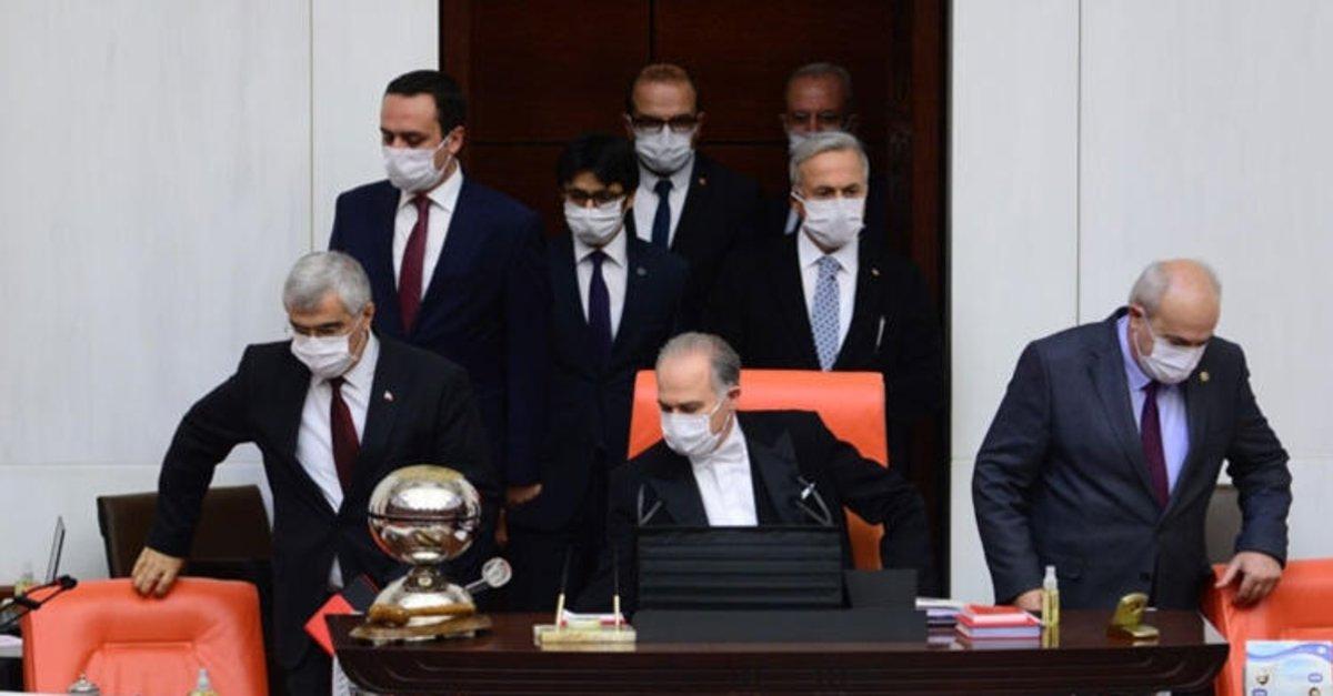 Meclis'te bir milletvekilinde koronavirüs tespit edildi