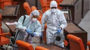 Meclis'te koronavirüs nedeniyle çalışmalara ara verildi