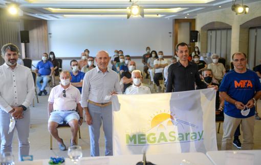 Megasaray'da turizm masaya yatırıldı
