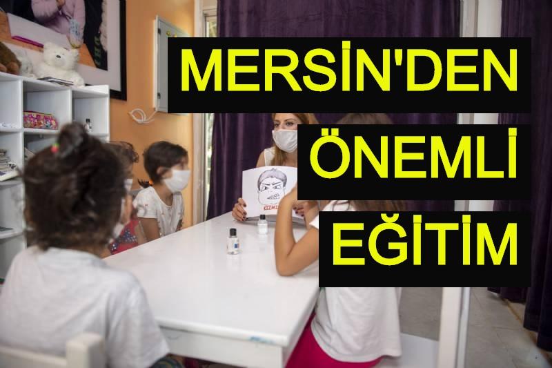 Mersin'den önemli eğitim