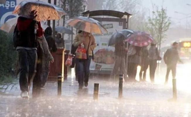 Meteoroloji'den 10 il için sağanak yağış uyarısı