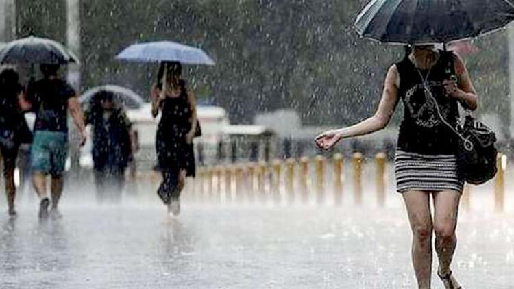 Meteoroloji'den 14 il için sağanak uyarısı