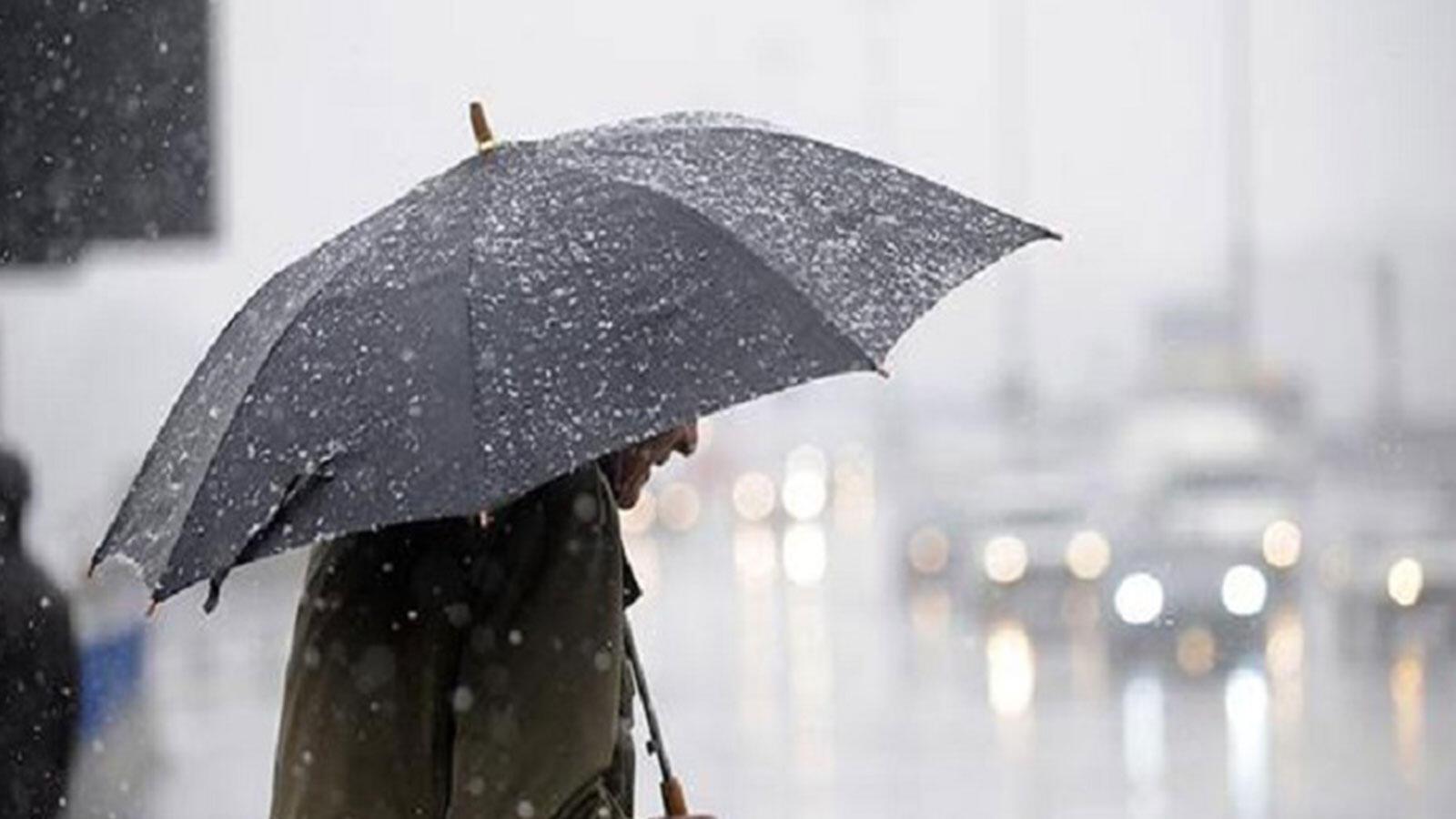 Meteoroloji'den 15 il için sağanak açıklaması