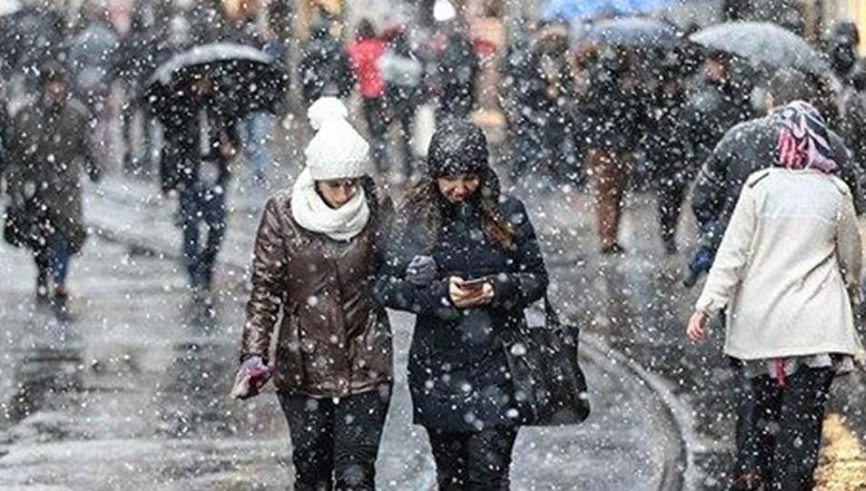 Meteoroloji'den 2 il için kar yağışı uyarısı