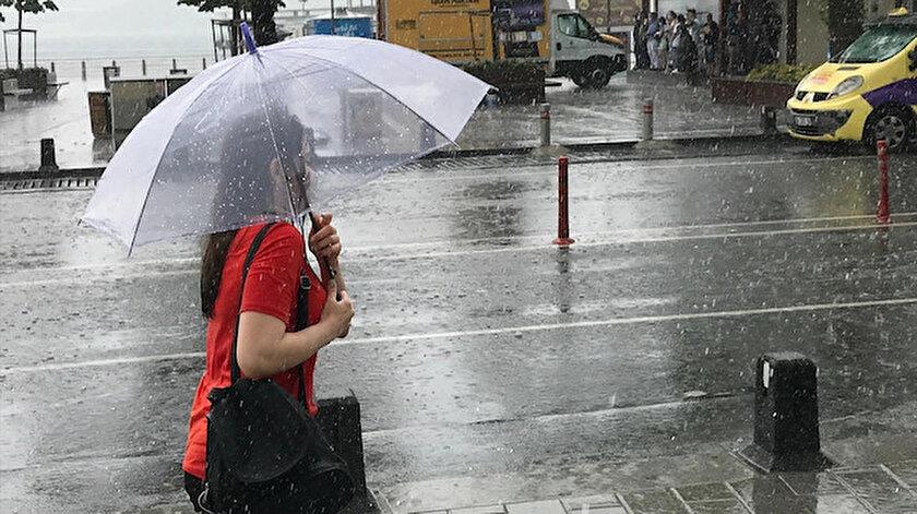 Meteoroloji'den 6 bölgeye sağanak uyarısı