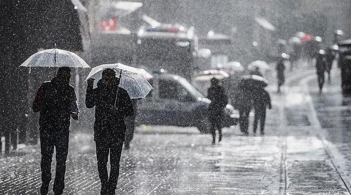 Meteoroloji'den 6 il için kuvvetli sağanak uyarısı