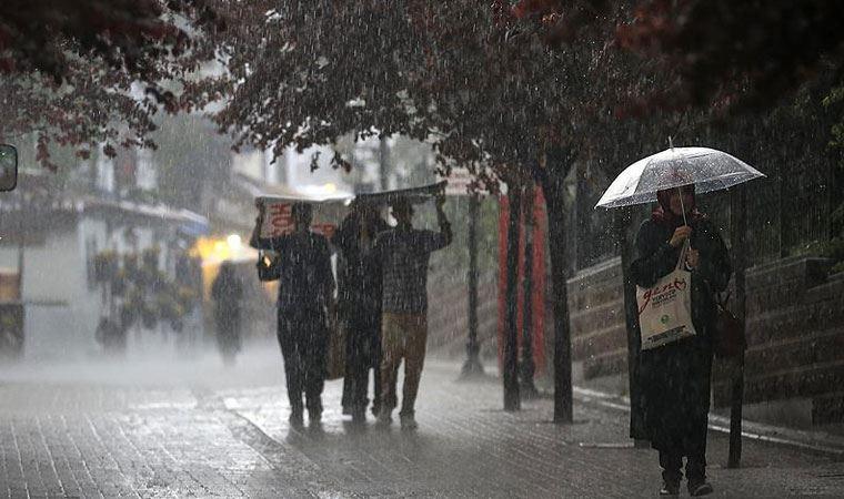 Meteoroloji'den Batı Karadeniz için kuvvetli sağanak uyarısı