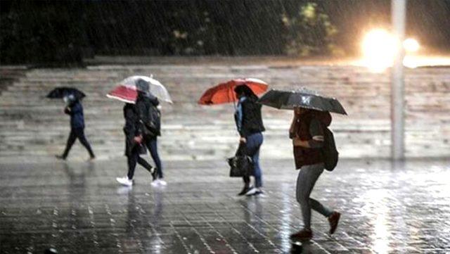 Meteoroloji'den hafta sonu için sağanak uyarısı