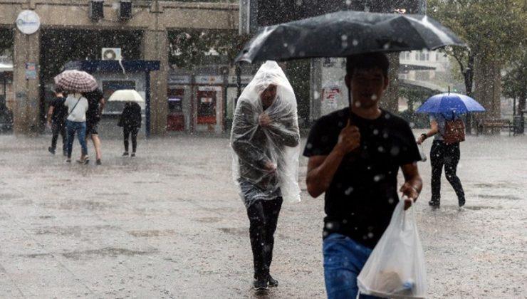 Meteoroloji'den iki bölge için sağanak uyarısı