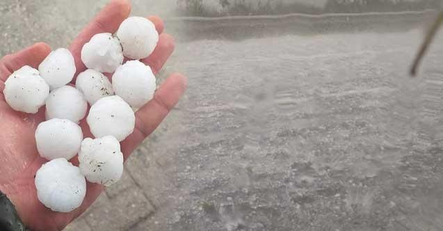 Meteoroloji'den İstanbul için kuvvetli yağış ve dolu uyarısı