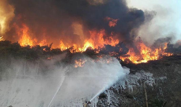 Meteoroloji'den iyi haber: Yangın bölgesinde nem artacak
