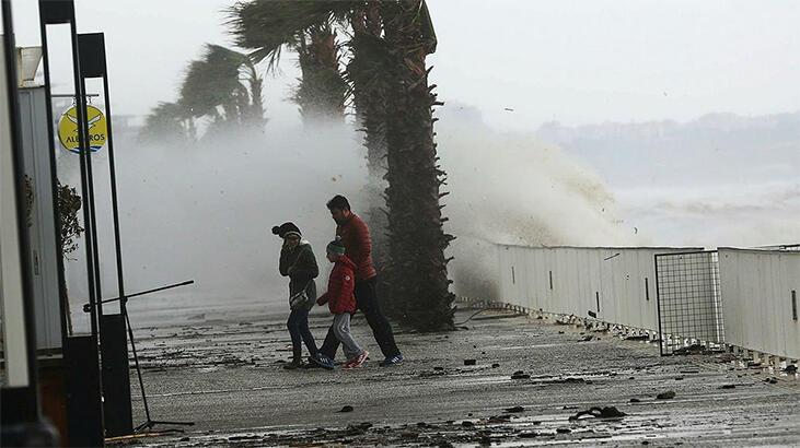 Meteoroloji'den Marma Bölgesi için fırtına uyarısı