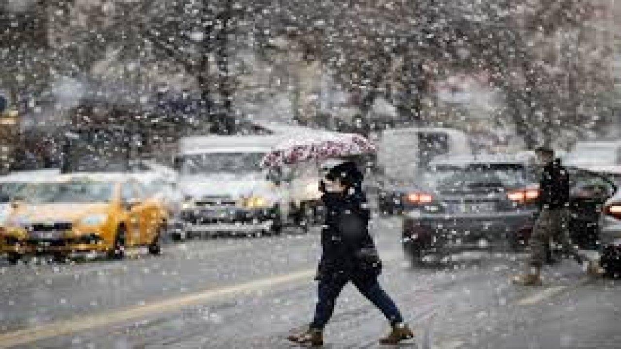Meteoroloji'den Marmara Bölgesi için yoğun kar yağışı uyarısı