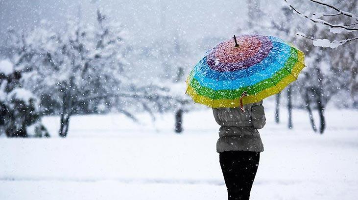Meteoroloji'den sağanak, kar ve fırtına uyarısı
