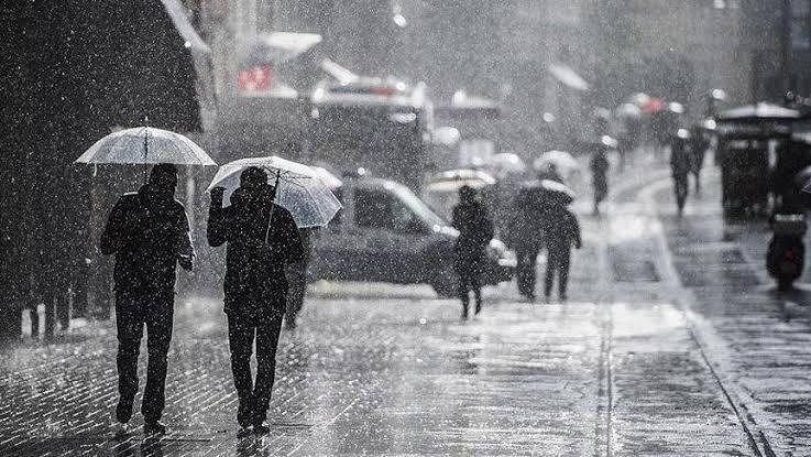 Meteoroloji'den uyarı: Şiddetli sağanak geliyor