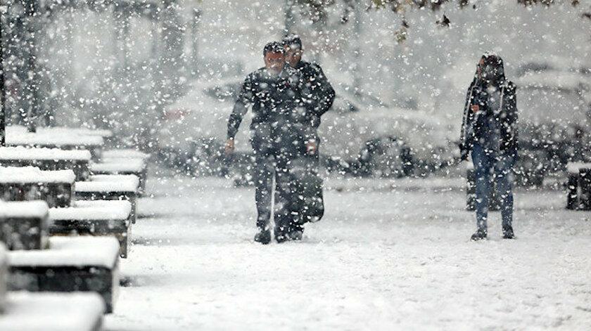Meteoroloji'den uyarı: Soğuk hava ülkeye giriş yaptı