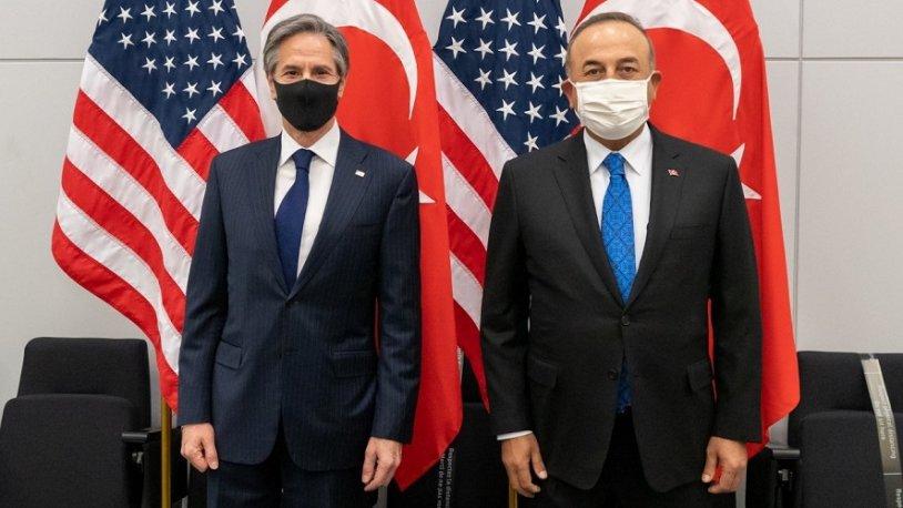 Mevlüt Çavuşoğlu, ABD Dışişleri Bakanı Blinken'la görüştü