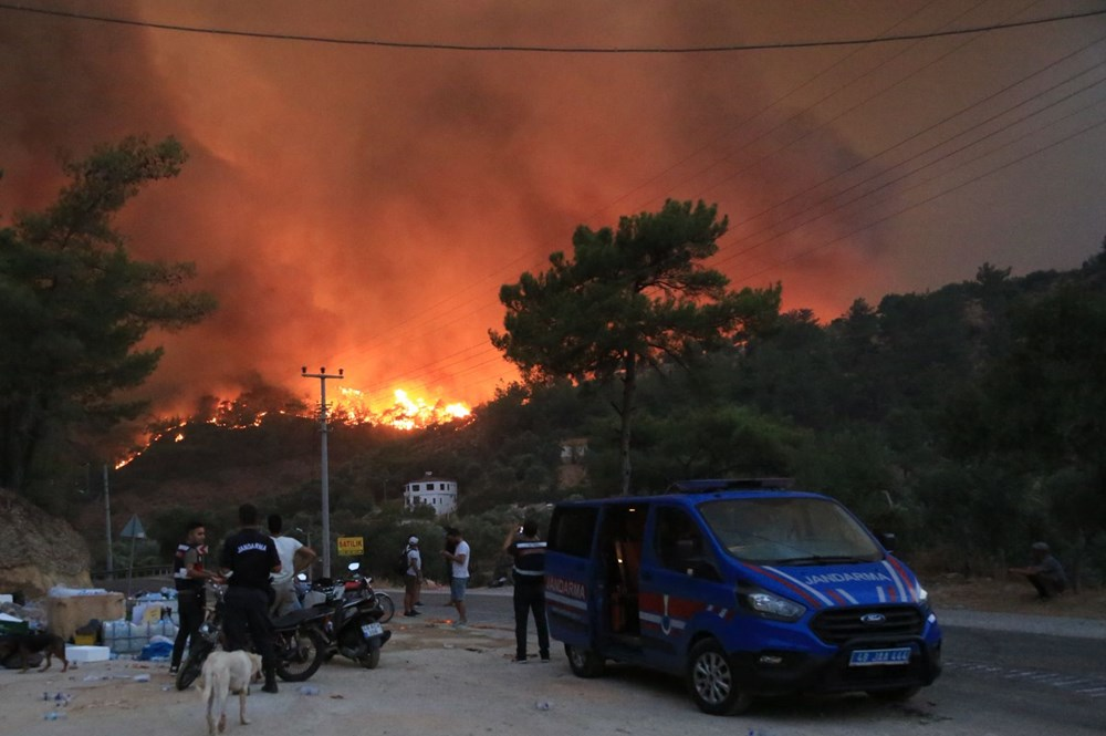 Milas'ta 5 mahalle tahliye edildi