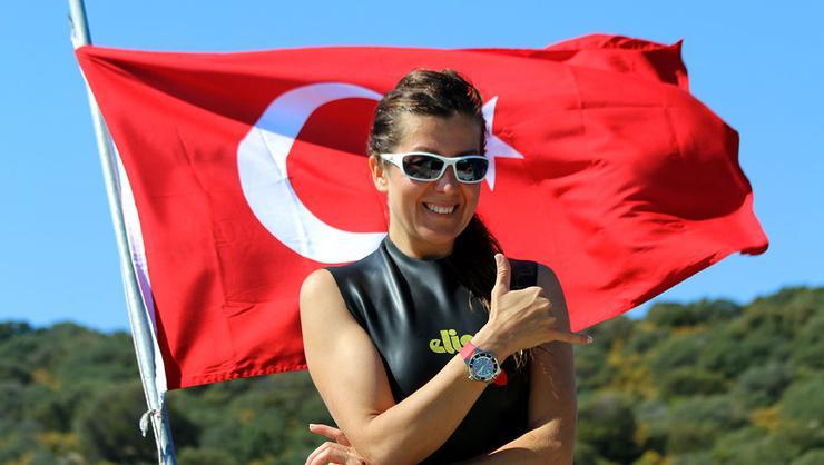 Milli dalışçı Birgül Erken'den yeni bir  dünya rekoru denemesi