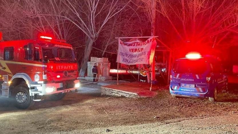 Milli park girişindeki restoranda yangın: 3 ölü