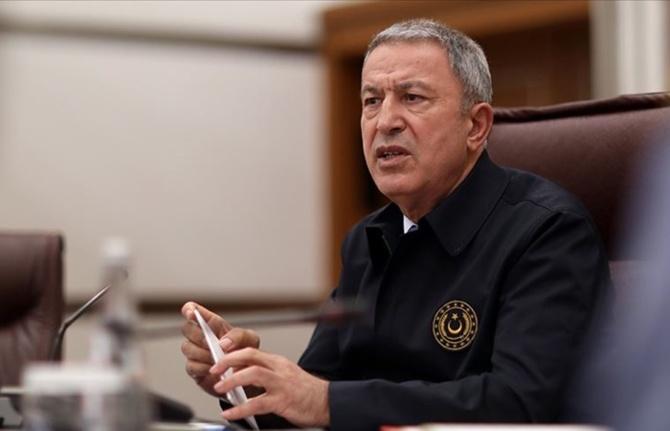 Milli Savunma Bakanı Akar: Pençe-Kaplan Operasyonu'nda şu ana kadar 41 terörist etkisiz hale getirildi