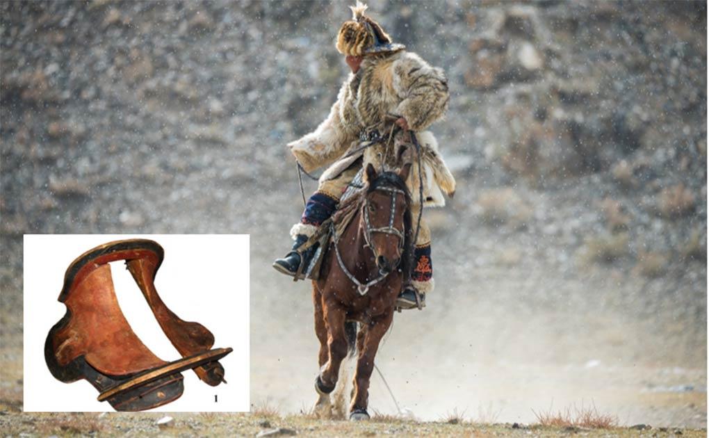 Moğolistan'da 1700 yıllık ahşap at eyeri bulundu