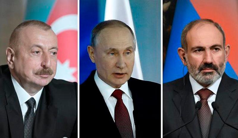 Moskova'da Dağlık Karabağ zirvesi başladı
