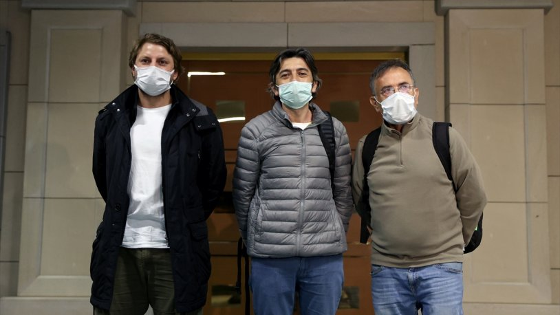 Mozart gemisinden kaçırılan 3 Türk denizci uçakla İstanbul'a geldi