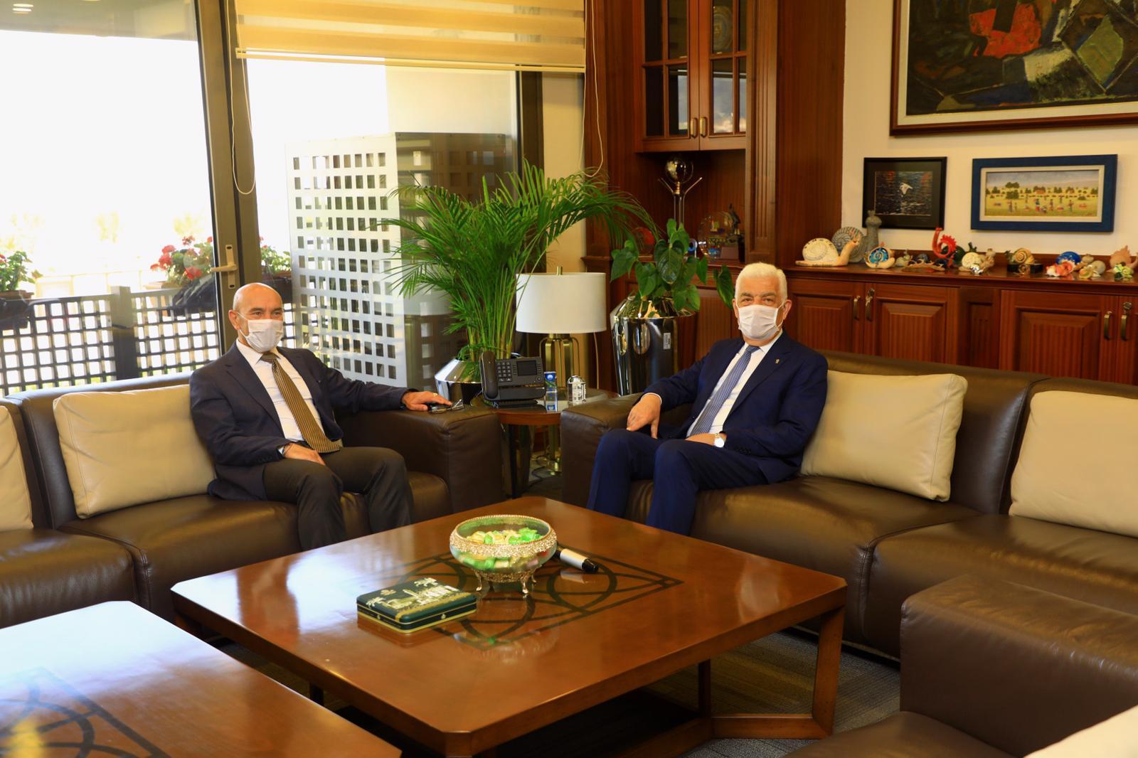Muğla ve İzmir Büyükşehir Başkanları buluştu