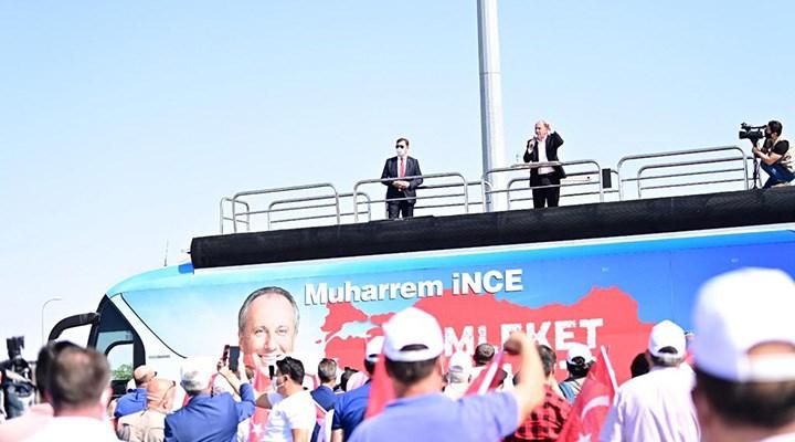 Muharrem İnce 'Memleket Hareketi'ni Sivas'tan başlattı