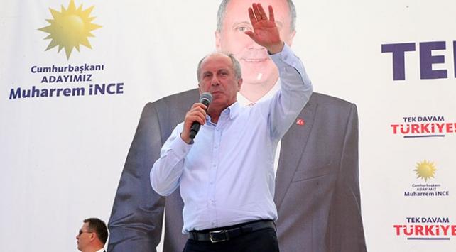 Muharrem İnce CHP genel başkanlığına aday olmayacak