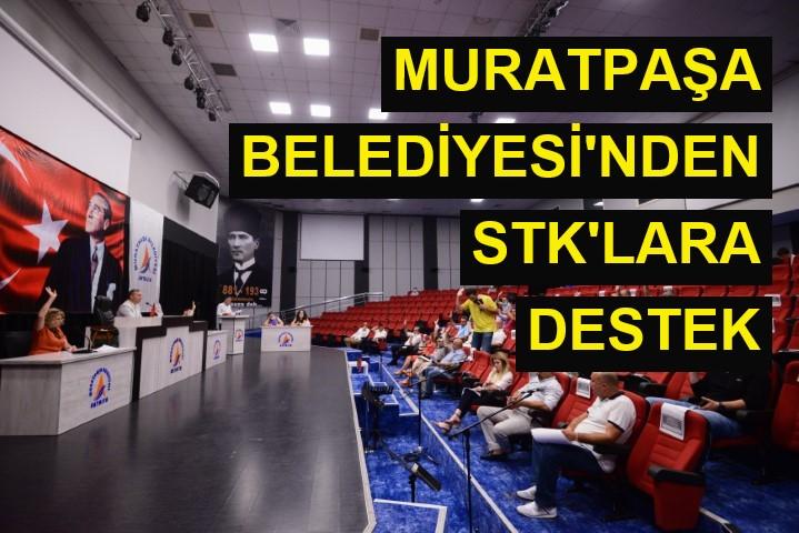 Muratpaşa Belediyesi'nden STK'lara destek
