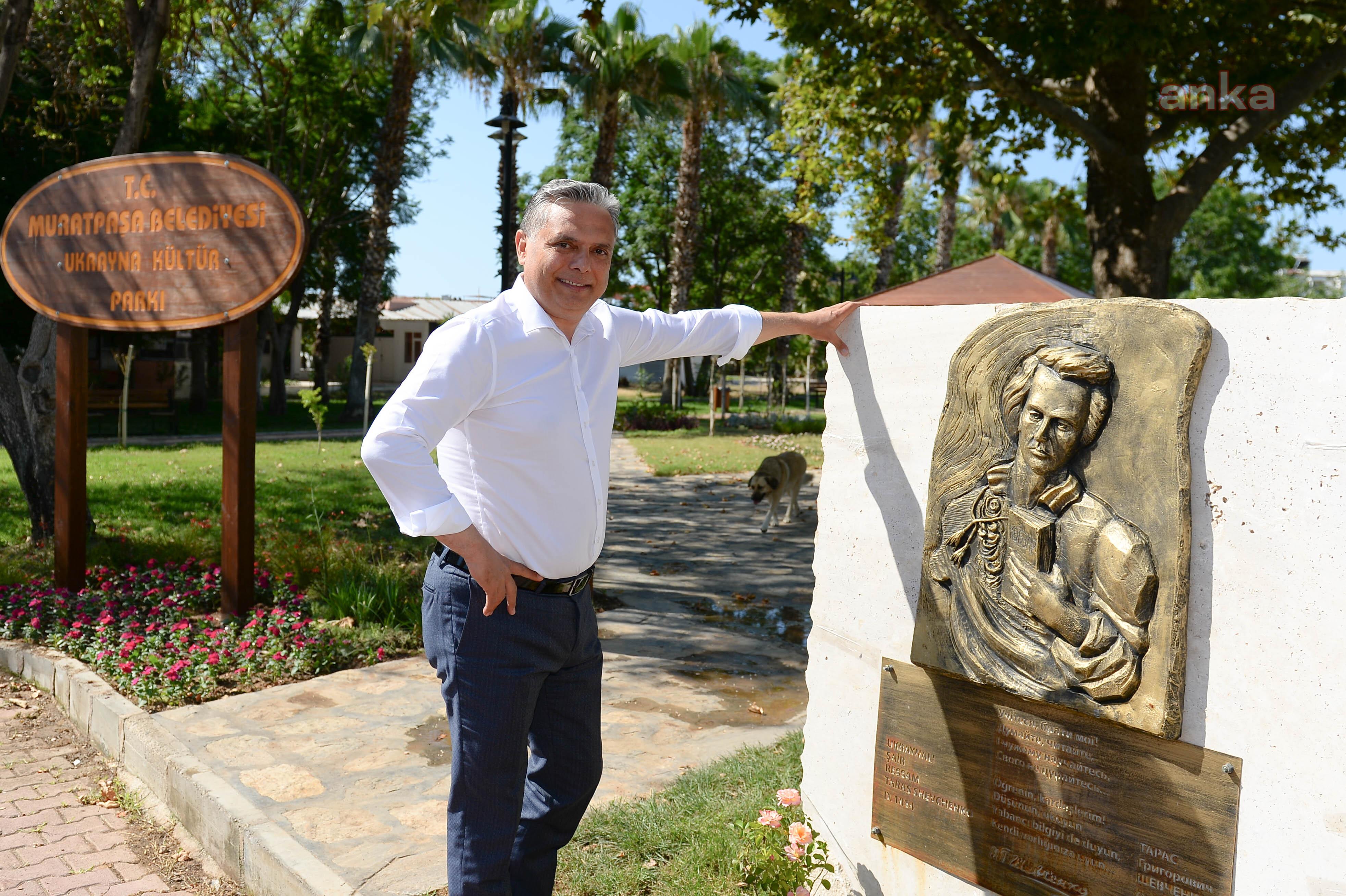 Muratpaşa'da Ukrayna Kültür Parkı açılıyor