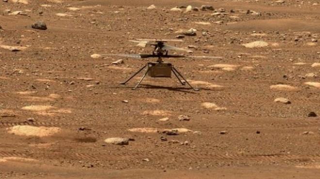 NASA, Mars'ta ilk kez helikopter uçurdu