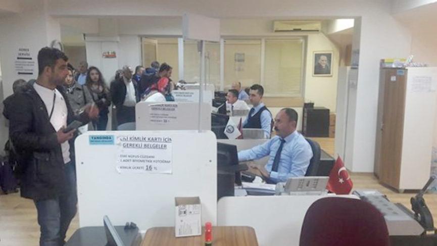 Nüfus müdürlüklerinden KPSS mesaisi