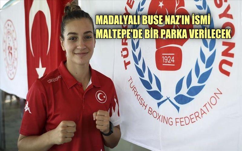 Olimpiyat madalyalı Buze Naz'ın ismi, Maltepe'de bir parka verilecek