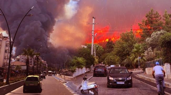 Orman Müdürlüğü: 71 orman yangınından 57'si kontrol altına alındı