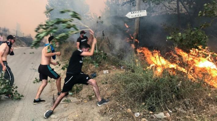 Orman yangınları: Cezayir'de 25 asker ve 17 sivil yaşamını yitirdi