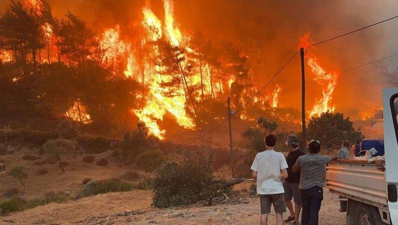 Orman yangınlarında son durum: 5 bölgede devam ediyor