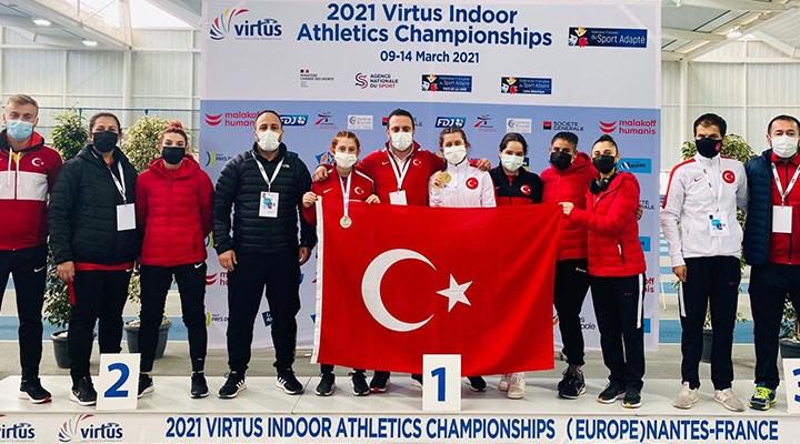 Özel sporcu Fatma Damla Altın, Avrupa şampiyonu oldu