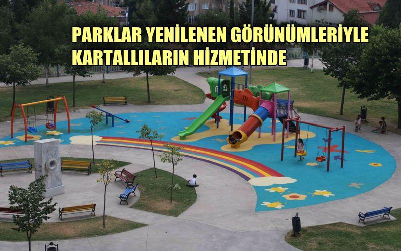 """""""Parklar"""" Yenilenen Görünümleriyle Kartallıların Hizmetinde"""
