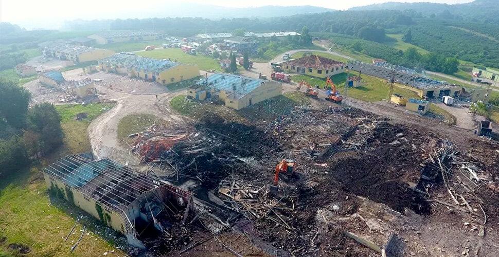 Patlamada hayatını kaybeden işçinin ailesine milyonluk dava!