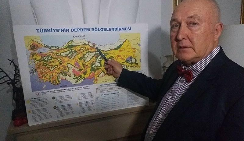 Prof. Dr. Ahmet Ercan'dan 7.1'lik deprem uyarısı