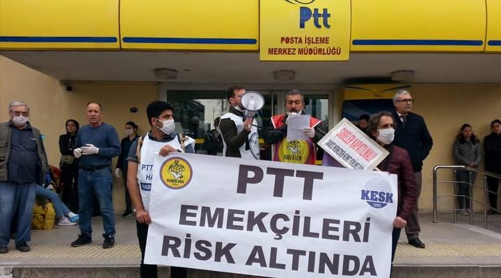 PTT'de her gün yüzlerce koronavirüs vakası