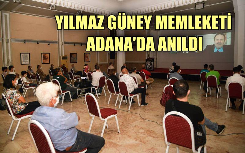 """""""Çirkin Kral"""" Yılmaz Güney, memleketi Adana'da anıldı"""