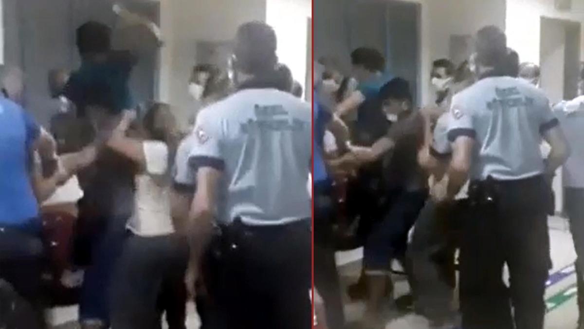 """""""Çocuğun kolunu acıttı"""" diyerek hemşirelere saldırdılar"""