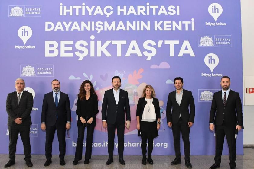 """""""İhtiyaç Haritası"""", dayanışmanın kenti Beşiktaş'ta başladı"""