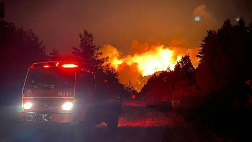 AFAD: Manavgat'taki yangında 3 kişi hayatını kaybetti